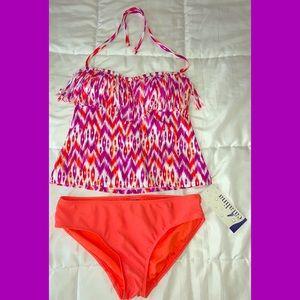 Catalina Fringe Tankini swimsuit